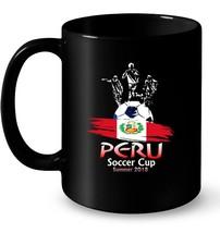 Team PERU Soccer June 2018 Ball World In Russia Gift Coffee Mug - $13.99+