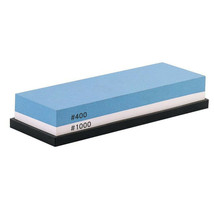 Double-Sided Knife Whetstone 400/1000 Grit  Sharpening Stone Silicone Ho... - $14.95