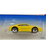 Hot Wheels 1995 Model Series 10 Yellow Ferrari 355 Car 13338 350 5 Dot New - $6.92