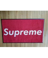 Supreme Skateboard Mat Rug 3' x 5' Horizontal Authentic Copyrighted IN S... - $369.99