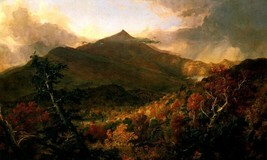 Schroon Mountain Adirondacks American Landscape Painting By Thomas Cole Repro - $10.96+