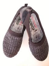 Skechers Air Cooled Memory Foam  Slip On Blk/Gray Women's 8.5 M Mint - £15.27 GBP