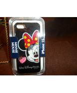 Disney Minnie Mouse floating Crystal Minnie Mouse iPhone 5S cover - $20.00