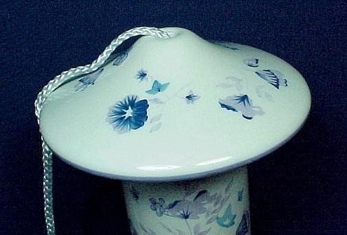 Laura Ashley Home Floral Ceramic Sophia Bird Feeder