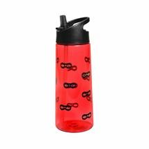 NEW Cat & Jack Kids' 21.5oz Tritan Water Bottle Eye Masks Print Red 52176615