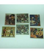 1949 BOWMAN WILD WEST CARDS vintage mixed lot annie oakley sheriff Briti... - $74.25
