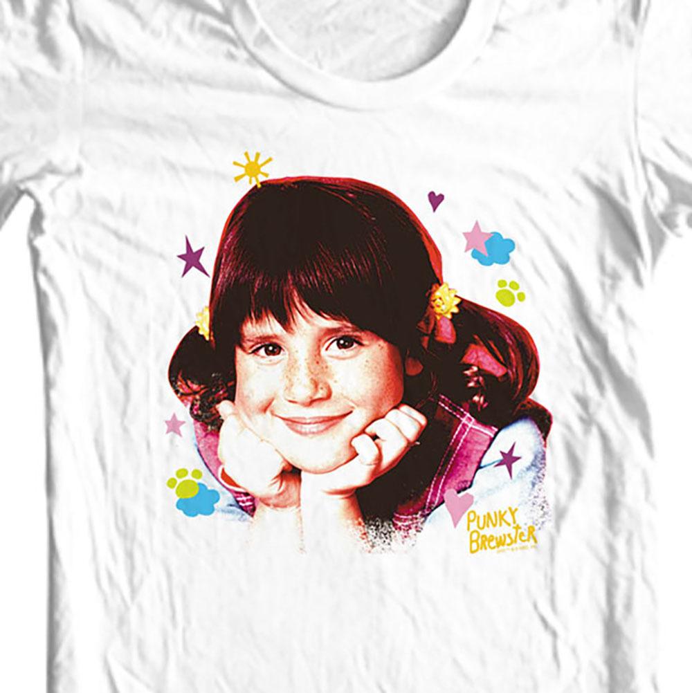 How sitcom retro nostalgic tv show soleil moon frye graphic tee for sale online cotton tee white