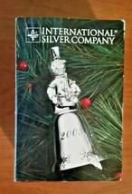 SILVERPLATE CHRISTMAS BELL ORNAMENT 1993 INTERNATIONAL SILVER COMPANY - $9.85