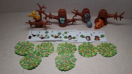 Kinder - K97 5-8 Tree with animals - complete set +  4 papers - surprise eggs - $4.50