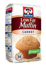 6 Bags Of Quaker Lowfat Carrot Muffin Mix 900 G Per Bag - $64.07