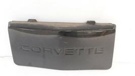 84-90 Chevrolet Corvette C4 Front Bumper Filler License Tag Delete Panel image 2