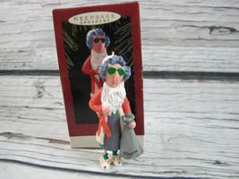 1993 Hallmark Keepsake Maxine Old Lady Christmas Ornament - $6.68