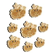 Delicious Turkey Dinner Thanksgiving Wood Buttons for Sewing Knitting Cr... - $9.99