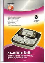 HAZARD ALERT RADIO weather, local Amber, FEMA,DHS,etc. works when power ... - $44.99