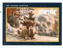 Star Trek card #229 The Savage Curtain - $3.00