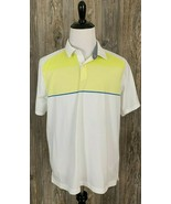 "Under Armour Golf Polo ""Heat Gear"" Men's XL Stretchy Poly/Spandex Style ... - $21.77"