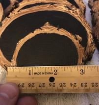 Lot of (100) 3 inch ChalkBoard woodslice ornaments - $249.99