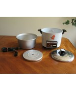 HITACHI Chime-O-Matic Automatic Rice Cooker Food Steamer 5.6 Cup RD-4053... - $36.09