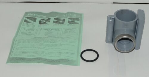 NDS 422015 Ridgid Saddle Tee 2 Inch Pipe PVC Cold Water Lines