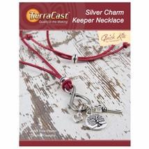 TierraCast Silver Charm Keeper Necklace Kit (TK103) - $9.31