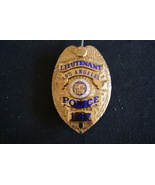 Los Angeles Police Badge,Obsolete Series 5 badge Lieutenant Badge 3 digi... - $549.59