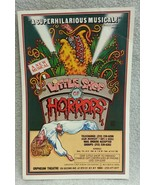 "Little Shop of Horrors Advertising Flyer Orpheum Theatre NYC 8.5"" x 5.5"" - $6.76"