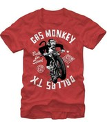 Gas Monkey Garage Mono Moto Serie de Tv Moto Dallas Texas Camiseta S-2XL - $18.84