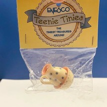 Enesco Teenie Tinies Treasure SEALED miniature figurine ornament pitcher bowl - $16.35