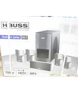 1500 Watt Home Theater Surround Sound Hauss Media Labs HS-7 - $276.05