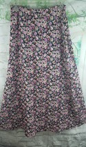 Maggie Lawrence Women's Size Large Floral Black... - $10.28