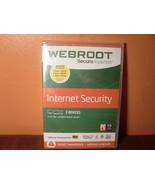Webroot SecureAnywhere Internet Security - Full Version Windows & Mac WB... - $9.72