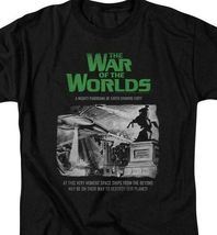 The War of the Worlds t-shirt Sci Fi retro 50s thriller graphic tee PAR539 image 3