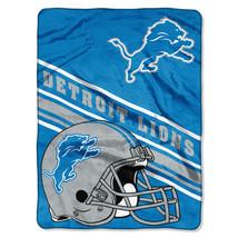 "NFL Lions Prestige Plush 60"" x 80"" Throw Blanket - $46.53"