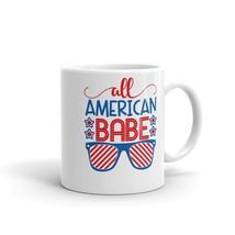 New Mug - All American Babe 4th of July USA America Patriotic - £8.52 GBP+