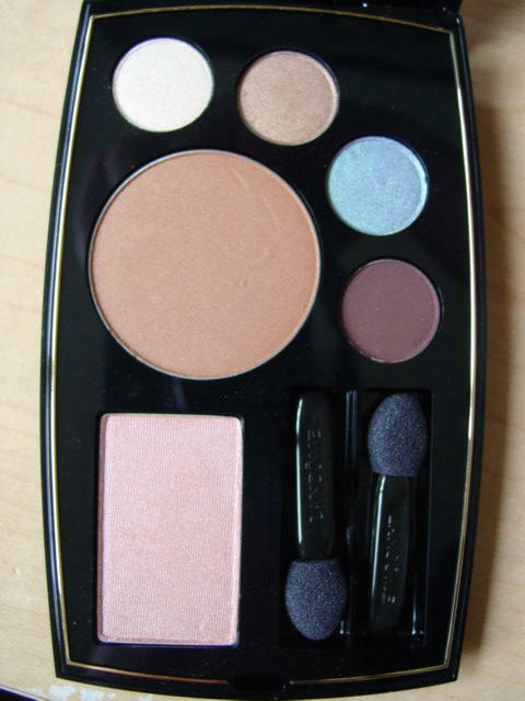Primary image for Lancome Bronzer Blush 4 Eyeshadow Palette BRONZE SOLAIRE, MIEL GLACE, BURNT SAND