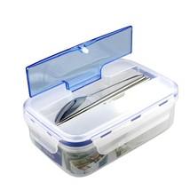 Tableware Portable Microwave Plastic Box Lunch Food Dinner School Dinnew... - $12.86