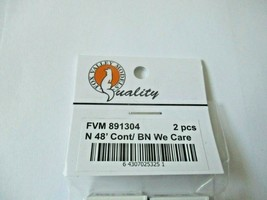 Fox Valley Models # FVM 891304 48' BN We Care Container 2/Pack N-Scale image 2