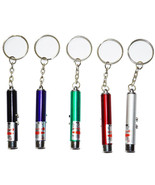 Laser Pointer Pen 2I1 Red LED Light - $8.99