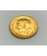High Grade, Great Britain, 1911 gold half sovereign, George V - $450.00