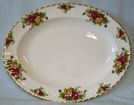 """Royal Albert Old Country Roses 13 1/2"""" Platter England - $55.33"""