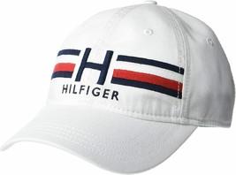 Tommy Hilfiger Men's Embroidered Hat Logo Branding Baseball Cap 6950994100