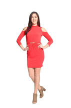 Jessica Simpson Cold-Shoulder Fitted Cocktail Dress Retail $98 CHOOSE YO... - $49.99