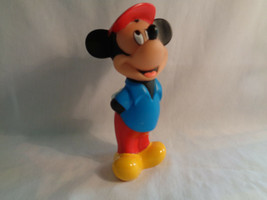 Disney Mickey Rubber Vinyl Squeak Bath Toy - $2.92