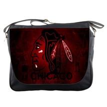 Messenger Bag The Chicago Blackhawks Professional Ice Hockey Team Sports... - $30.00