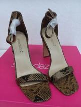 Shoedazzle PADMA ANKLE STRAP HEEL  Snake Size 7 - $31.28