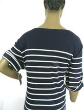 Karen Scott Plus Size 2X,3X Dress Floral Embroidered Striped Shift Dress NEW $54 image 7