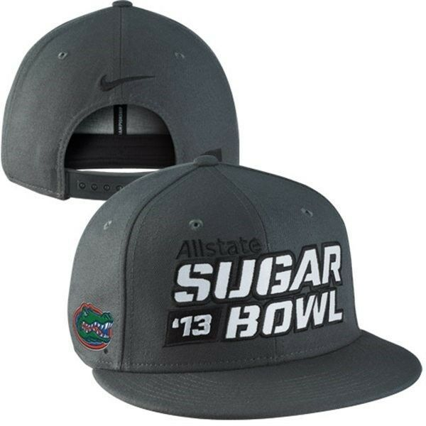 Florida Gators Football 2013 Sugar Bowl snapback hat Nike new UF The Swamp SEC - £14.74 GBP