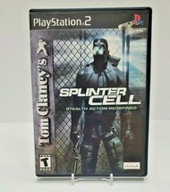 PS2 Tom Clancy's Splinter Cell Stealth Action - Black Label - $5.90