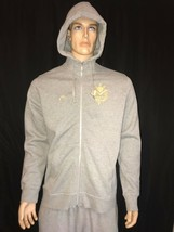 Nike Manny Pacquiao Pacman Full Zip Hoodie Size XL Gray Gold - $118.15
