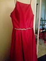 Formal/Evening Ruby Gown - $170.00
